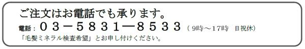 毛髪ミネラル検査|レメディコム ホメオパシージャパン正規販売店